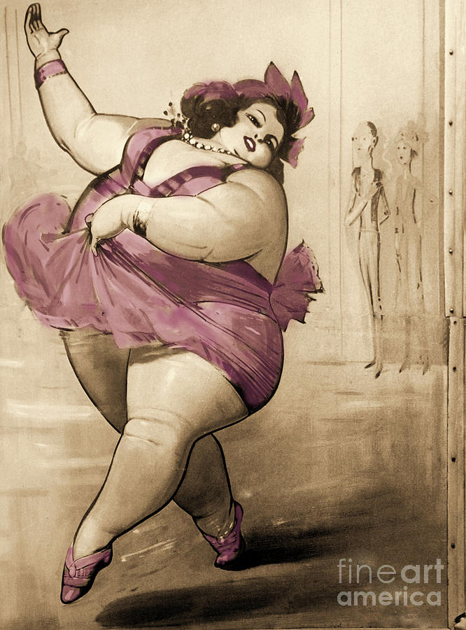 Fat Lady Painting