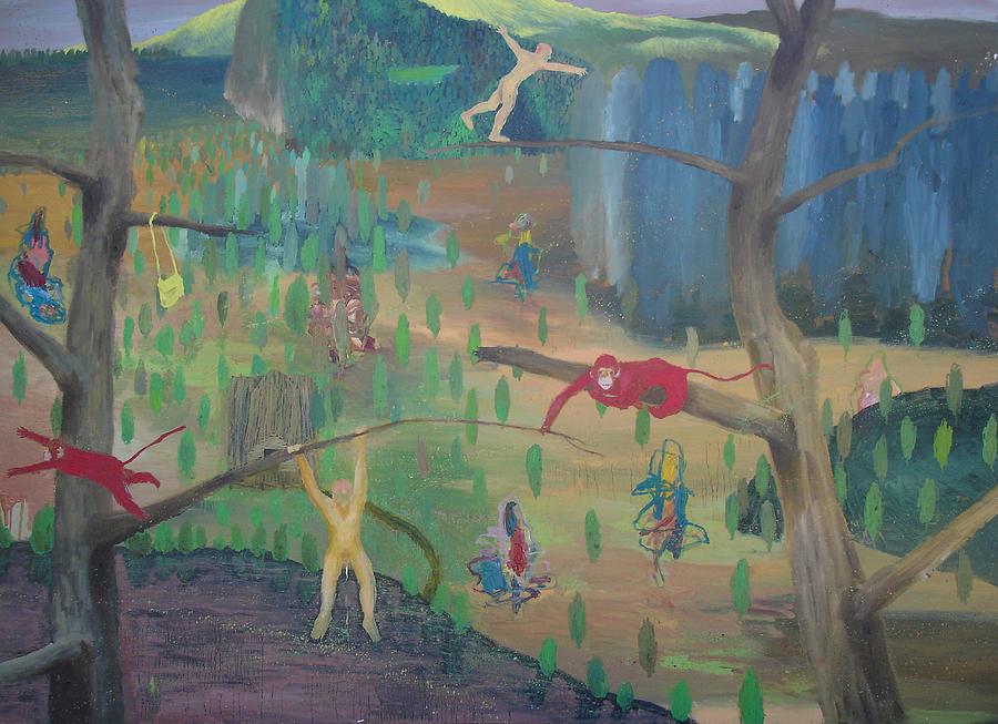 Circus Painting by Ricardo Frutuoso
