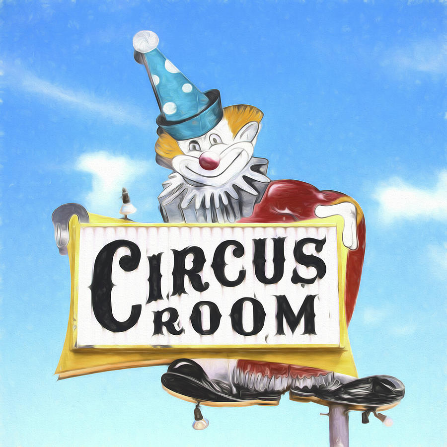 Amarillo Photograph - Circus Room by Stephen Stookey