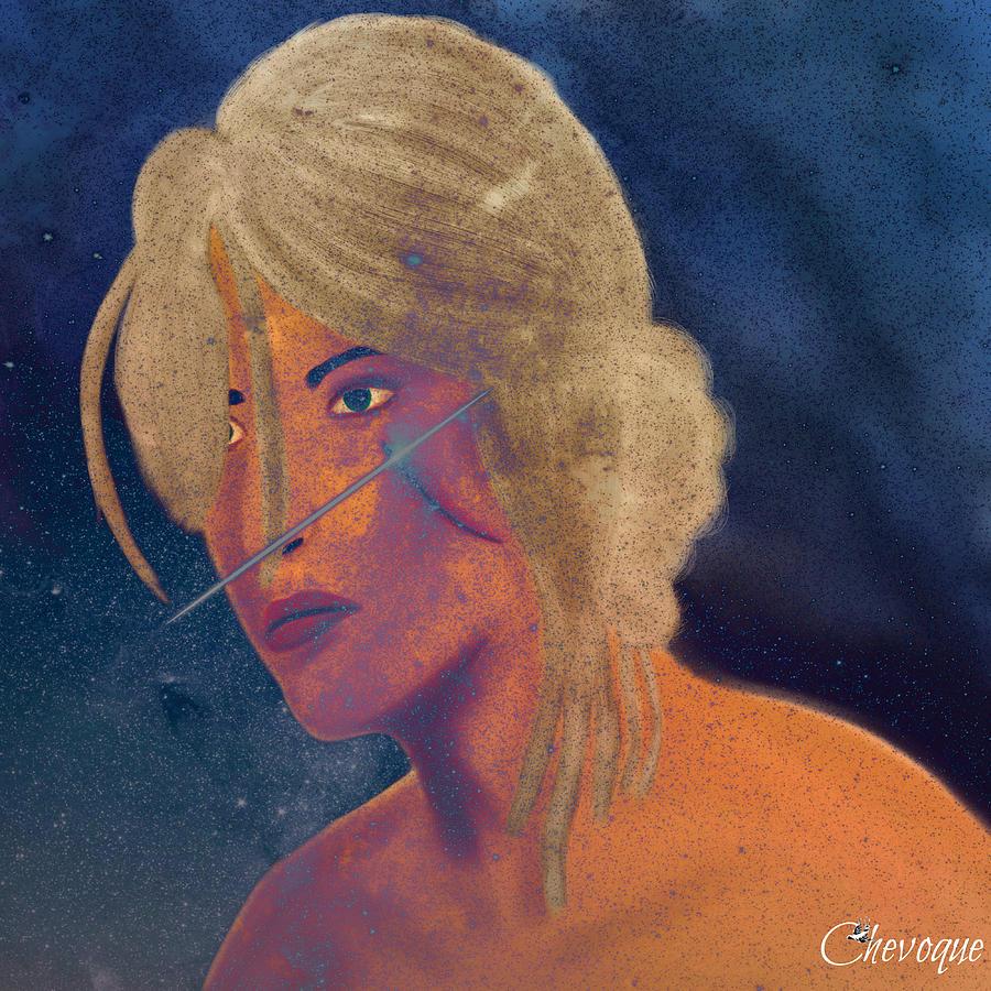 Game Digital Art - Ciri The Witcher 3 Wild Hunt Fanart Attempt by Chevoque