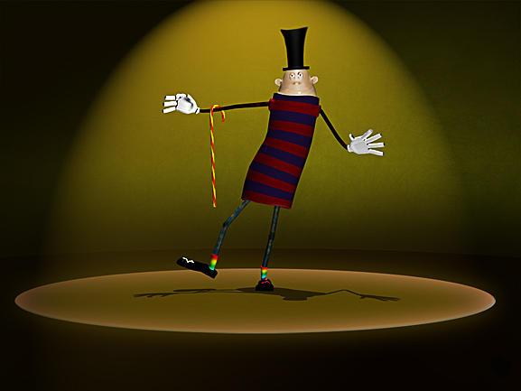 Cirkus Digital Art by Thomas Arnoldi