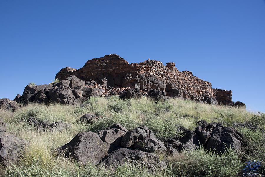 Volcano Photograph - Citadel Pueblo by Kenneth Hadlock