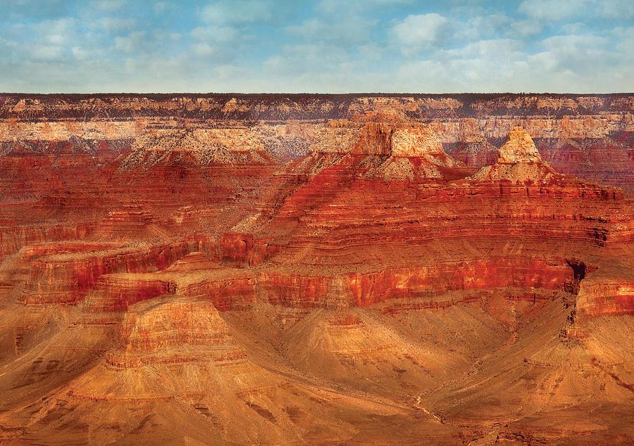 Savad Photograph - City - Arizona - The Grand Canyon by Mike Savad