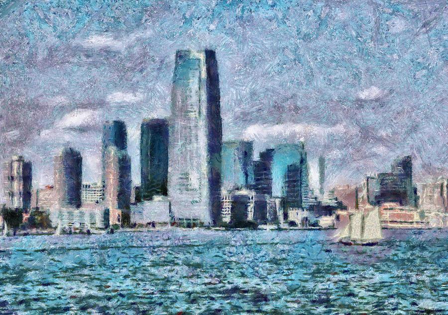 Savad Photograph - City - Ny - City Of The Future by Mike Savad