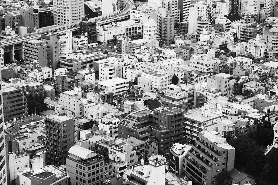 Japan Photograph - City-08 by Stephen Walton