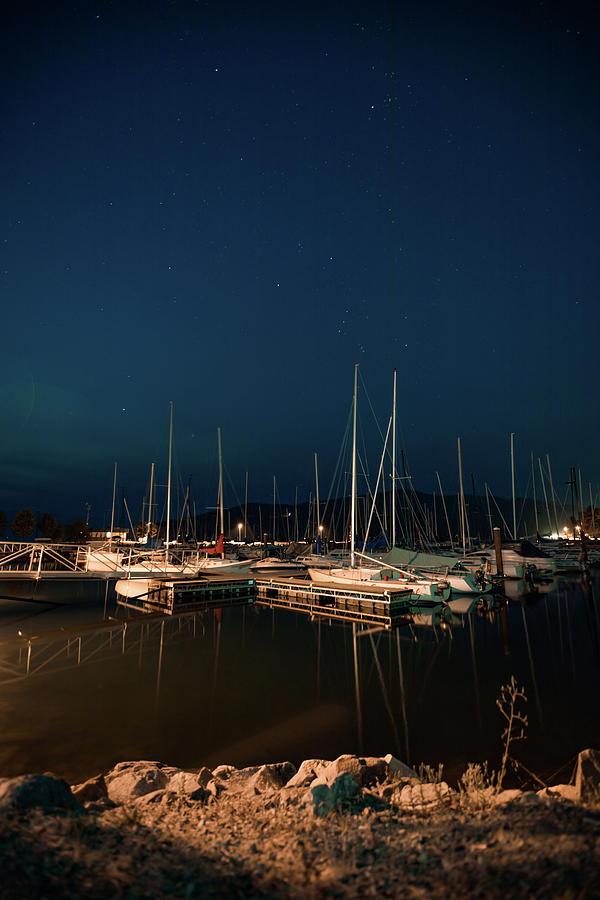 City Beach Marina Night 9-2-17 Photograph