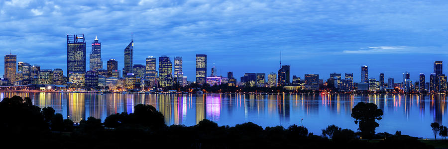 City Blues, South Perth, Perth by Dave Catley