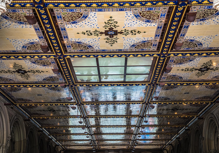 Central Park Photograph - City Ceilings by Michael Santos