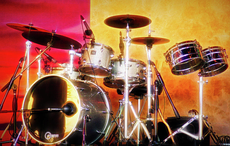City Flare Drum Set Photograph By Aimee L Maher Alm Gallery