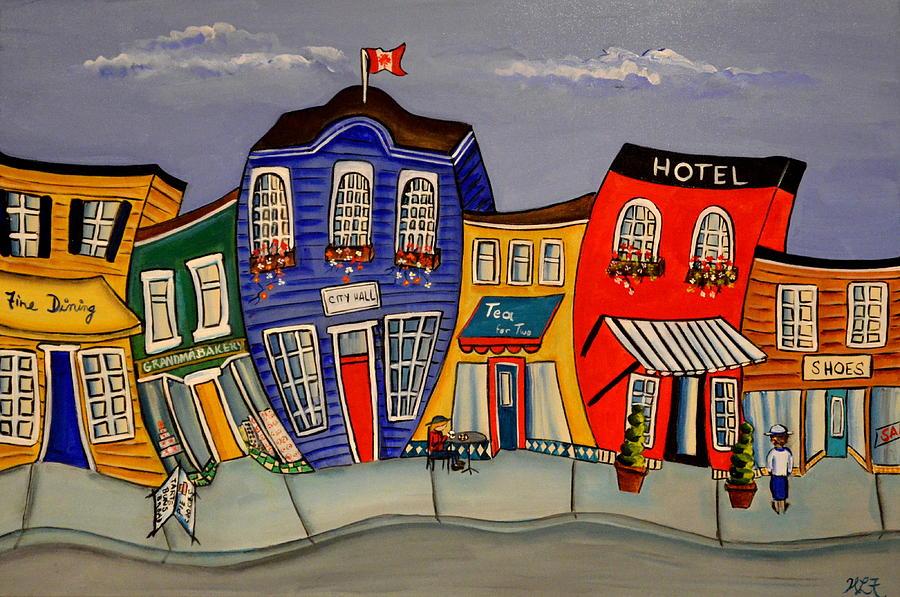 City Hall by Heather Lovat-Fraser
