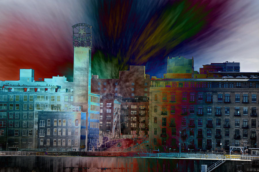 Cityscape Photograph - City In Transmission by John Ricker
