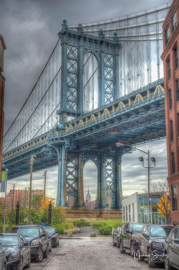 Manhattan Photograph - City Mood by Michael Santos