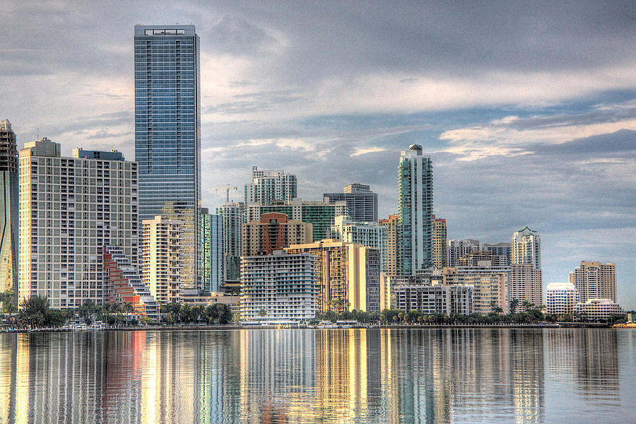 Miami Photograph - City Of Miami by William Wetmore