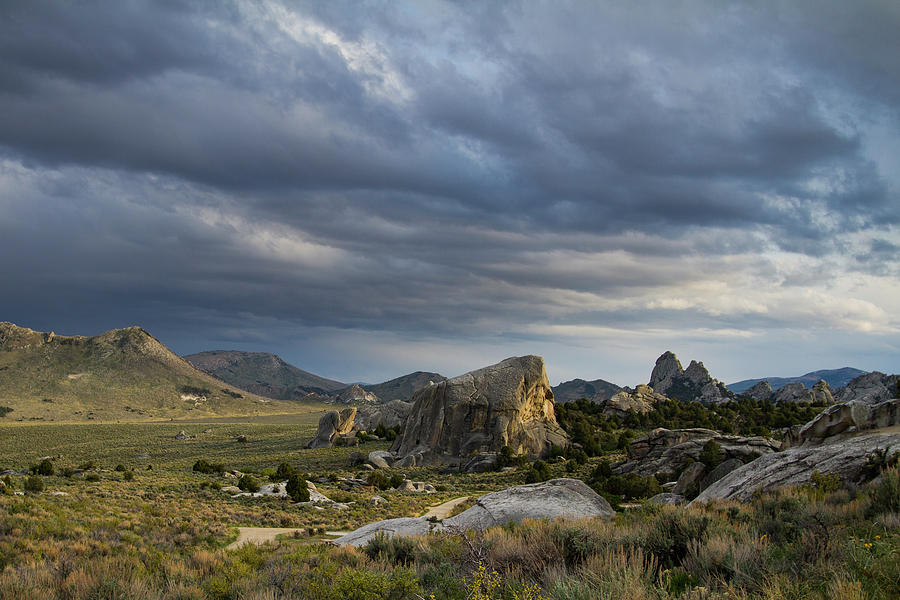 City of Rocks, Idaho by Mike Bachman