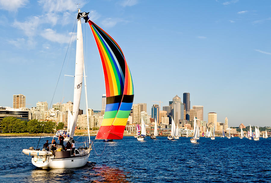Seattle Photograph - City Of Seattle by Tom Dowd