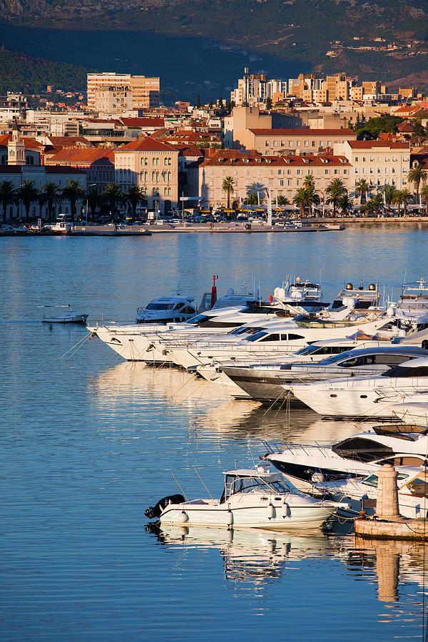 Split Photograph - City Of Split In Croatia by Artur Bogacki