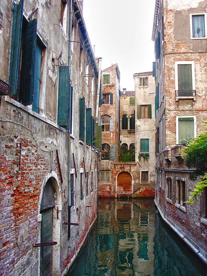 Venice Photograph - City Of Water by Julie Palencia