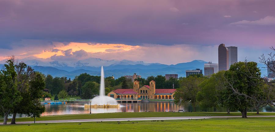 City Park Sunset Photograph