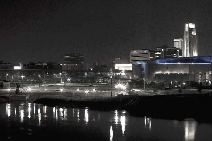Landscape Photograph - City Reflections by Tim Perry