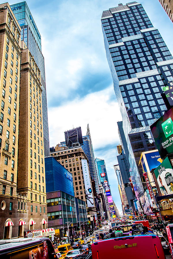 New York Photograph - City Sights Nyc by Az Jackson