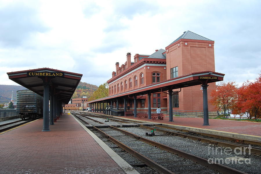 Historic Photograph - Cumberland City Station by Eric Liller