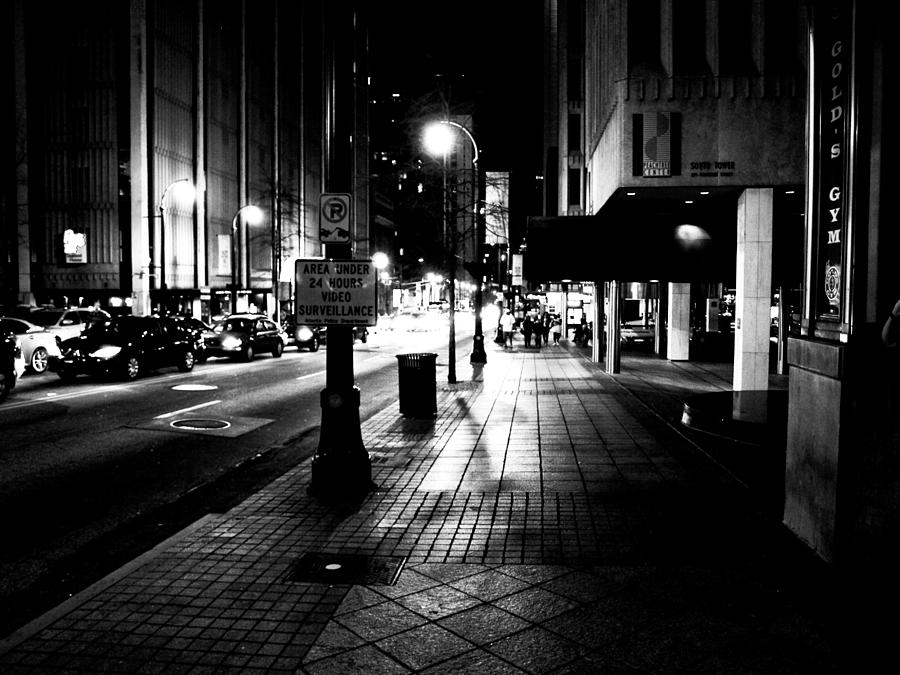 City Photograph - City Street by Valeria Donaldson