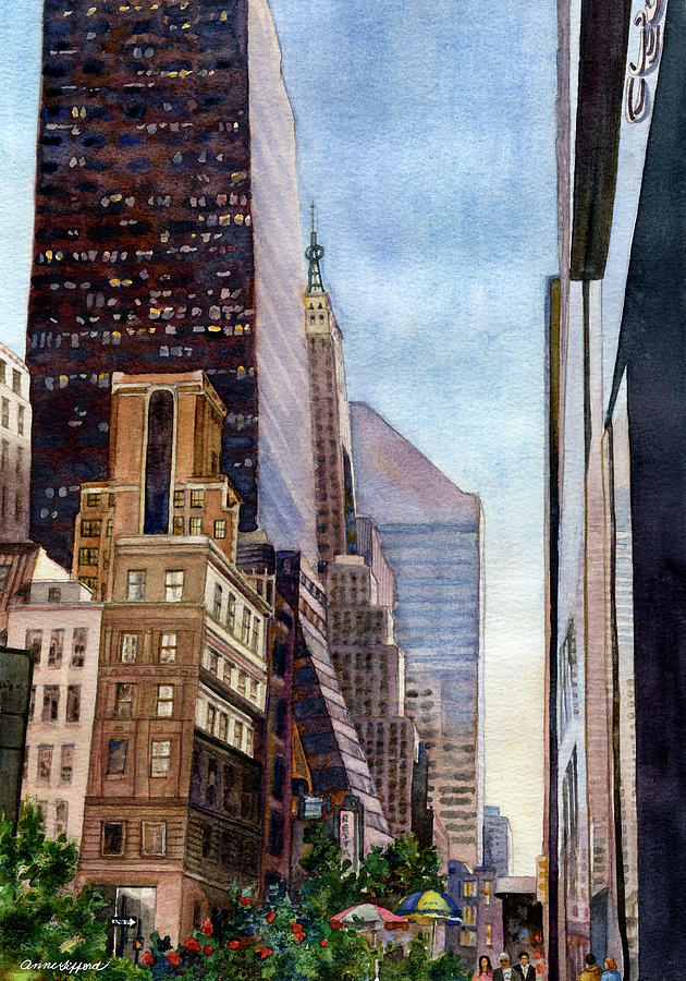 City Sunrise by Anne Gifford