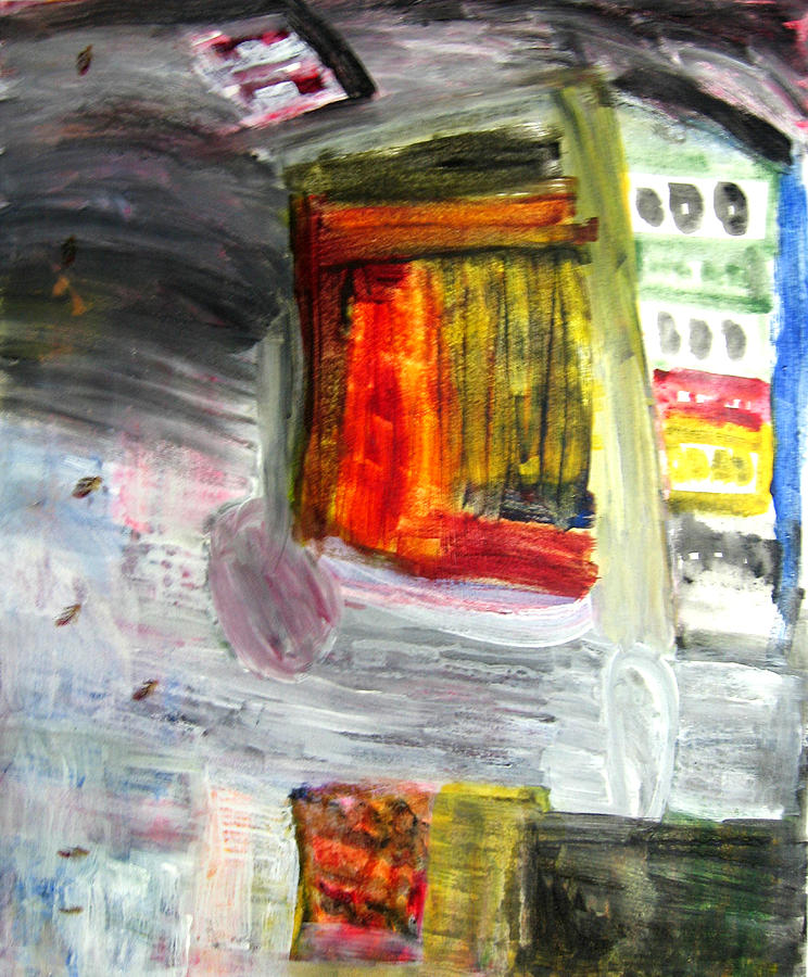 City Painting - City by Todd Dehart