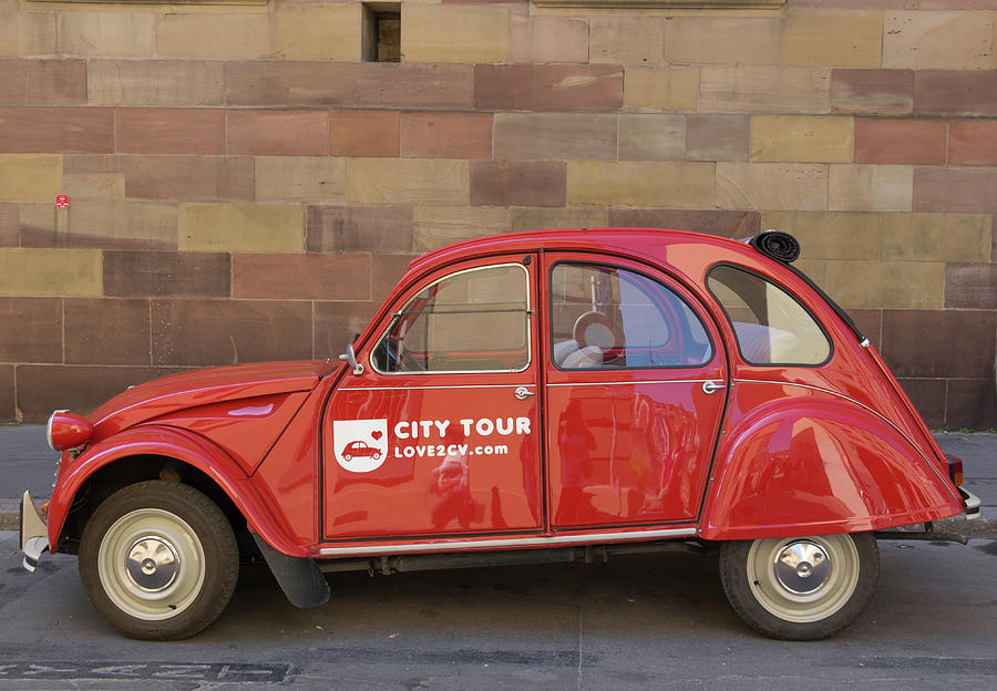 Alsace Photograph - City Tour Car Strasbourg France by Teresa Mucha