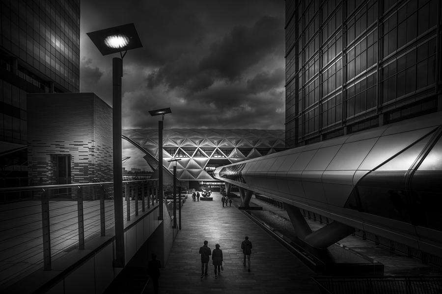 City walk by S J Bryant