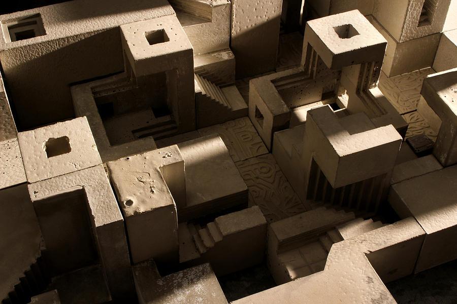 Architecture Photograph - Cityscape 10 by David Umemoto