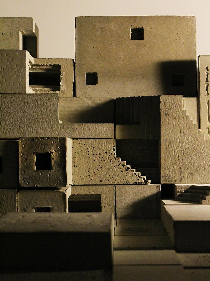 Architecture Photograph - Cityscape 11 by David Umemoto