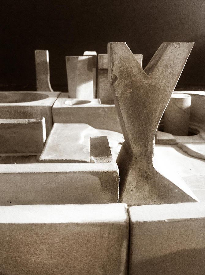 Architecture Photograph - Cityscape 16 by David Umemoto