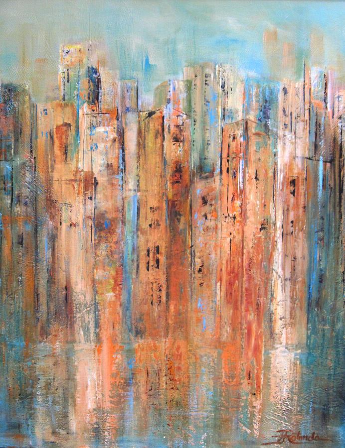 Cityscape #3 by Roberta Rotunda
