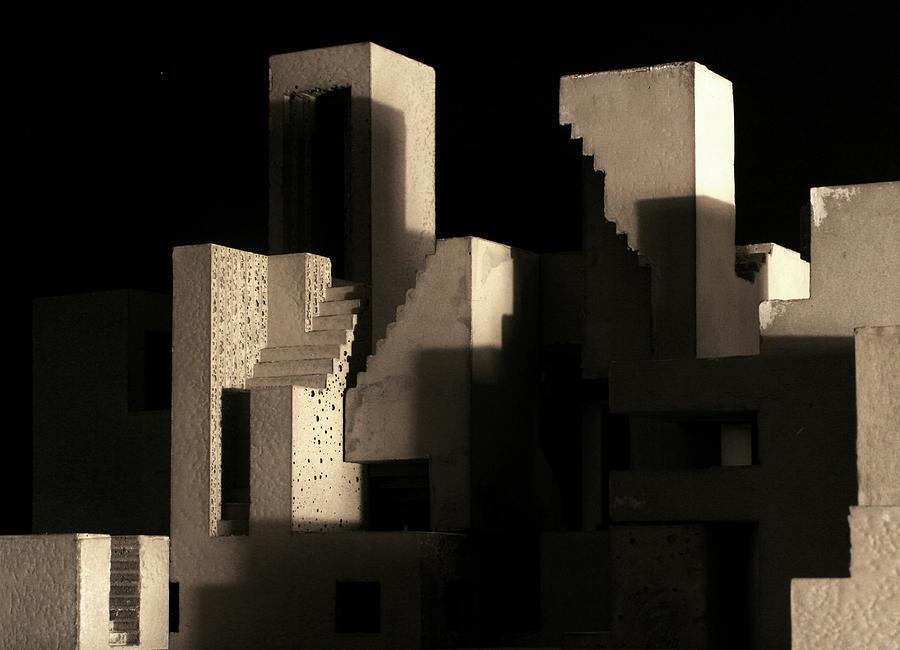 Architecture Photograph - Cityscape 5 by David Umemoto