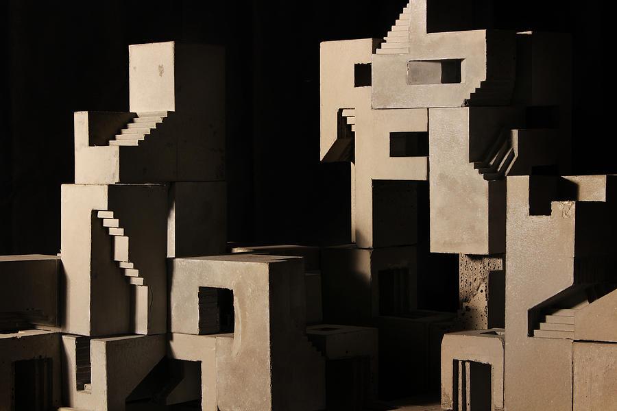 Architecture Photograph - Cityscape 6 by David Umemoto