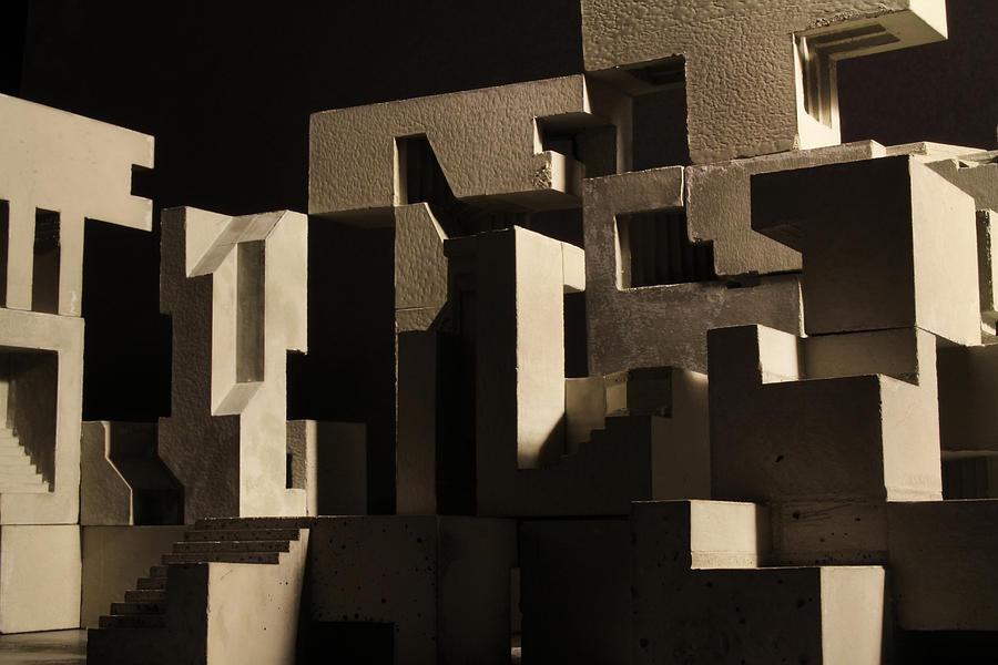 Architecture Photograph - Cityscape 8 by David Umemoto