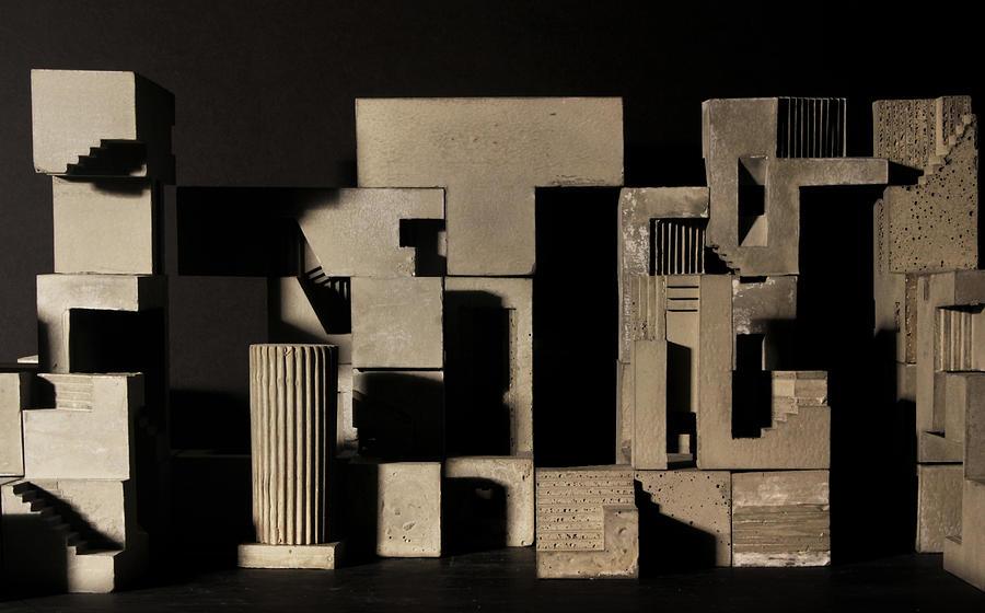 Architecture Photograph - Cityscape 9 by David Umemoto