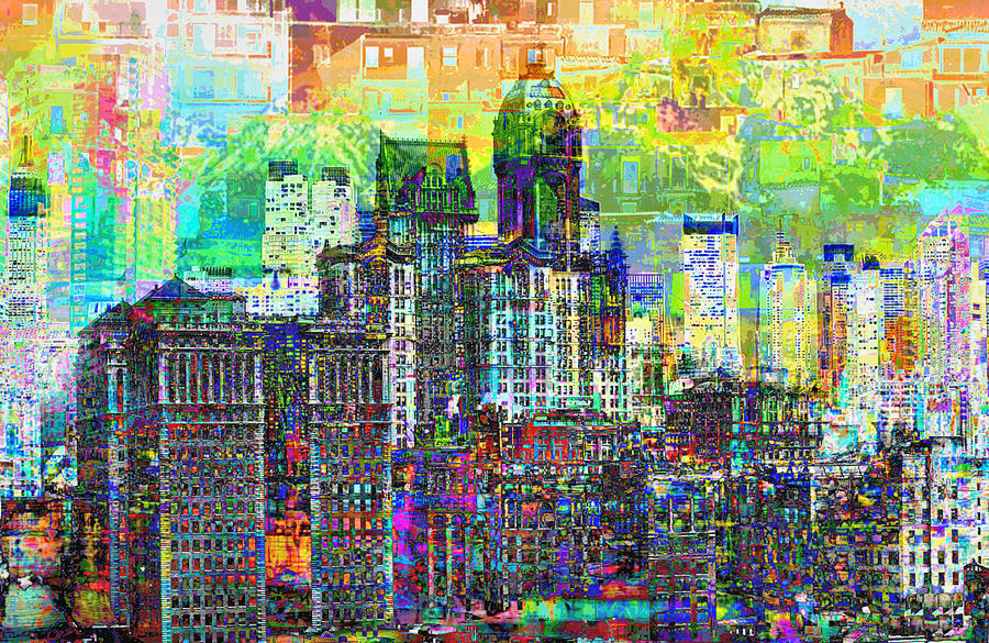 City Photograph - Cityscape Art City Optimist by Mary Clanahan