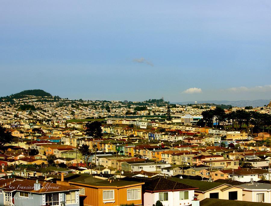Cityscape San Francisco California Photograph
