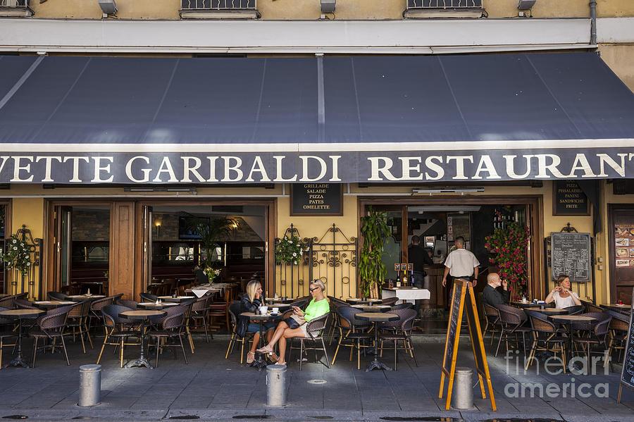 Civette Photograph - Civette Garibaldi Restaurant In Nice by Elena Elisseeva