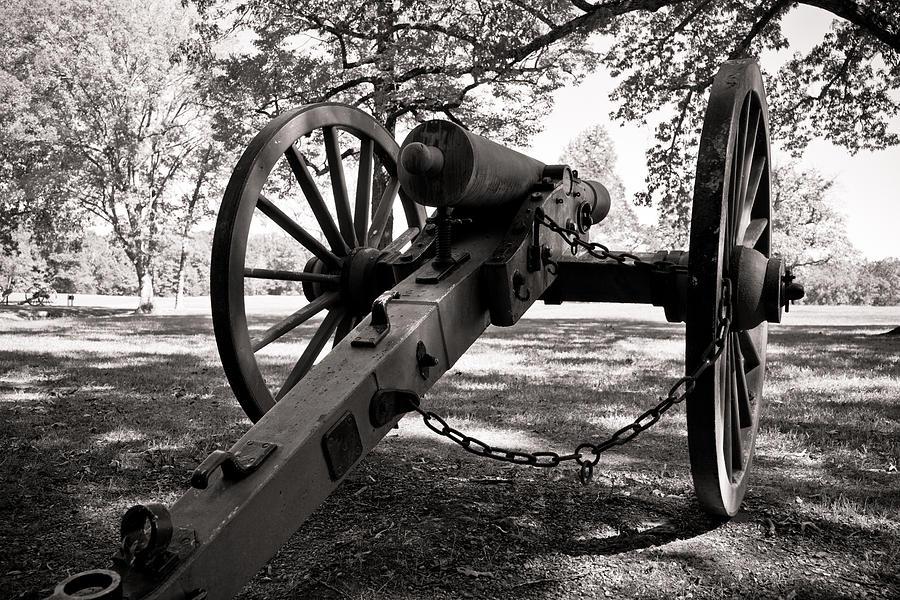 Cannon Photograph - Civil War Cannon by Edward Myers
