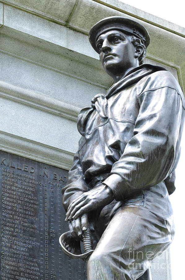 Civil War Memorial - Fitchburg, MA by Staci Bigelow