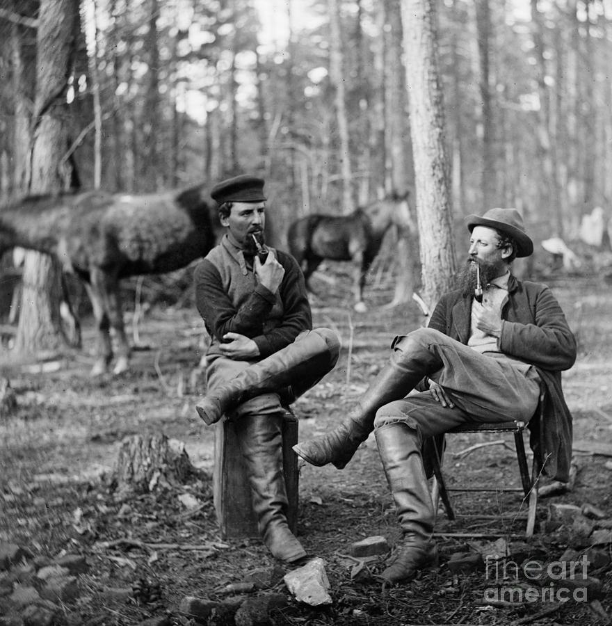 1864 Photograph - Civil War: Soldiers, 1864 by Granger
