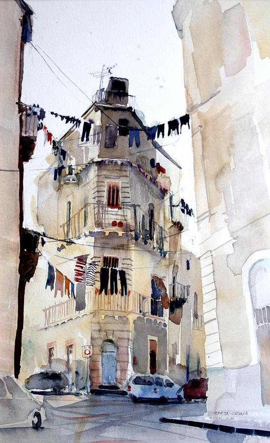 Catania Painting - Civitas by Omar Jaramillo