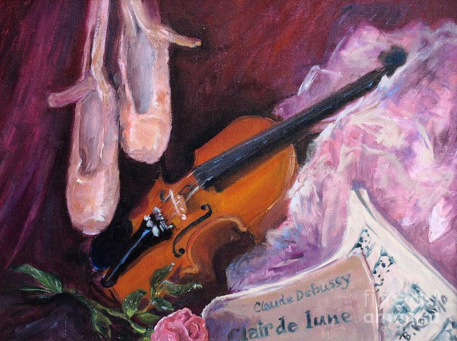 Clair De Lune Painting - Clair De Lune by B Rossitto