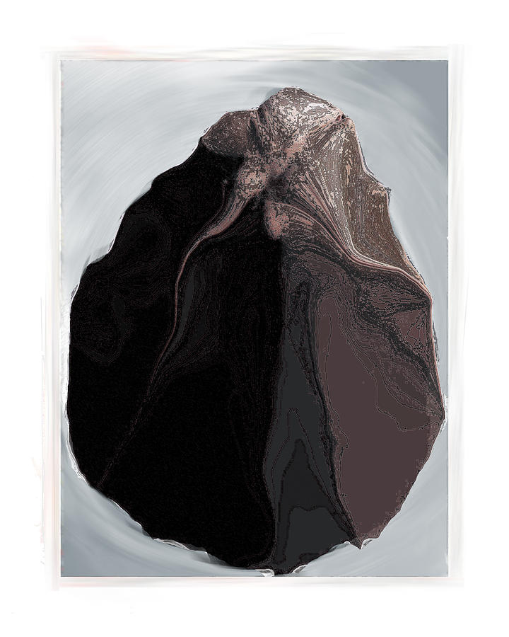 Still Life Digital Art - Clamscape by Nuff