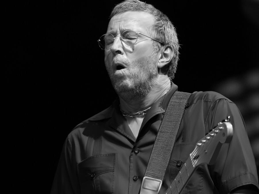 Digitally Drawn Clapton Digital Art