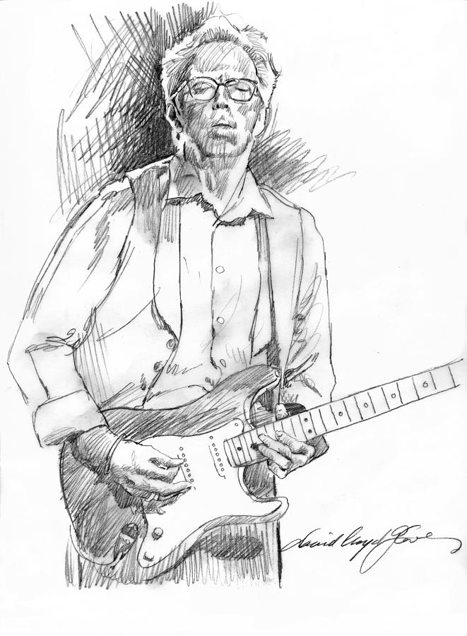Clapton Riff Drawing