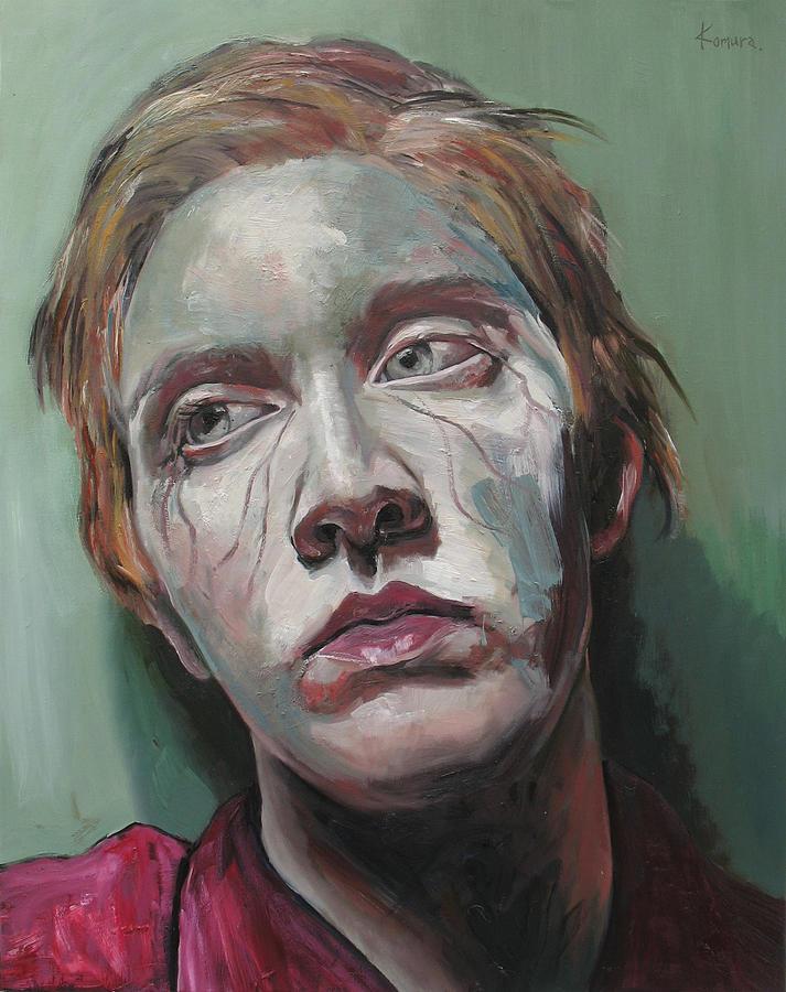 Portrait Painting - Clara 2 by Yuki Komura